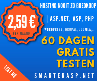 Website hosting , 2.59 euro per maand